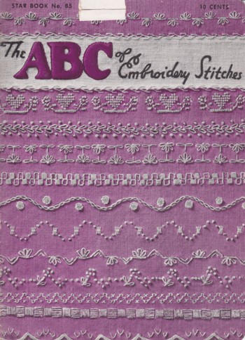 Image for ABC of Embroidery Stitches